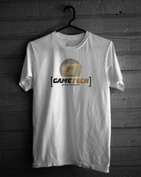 Game Tech Shirt Design  #4  (White) by micro100