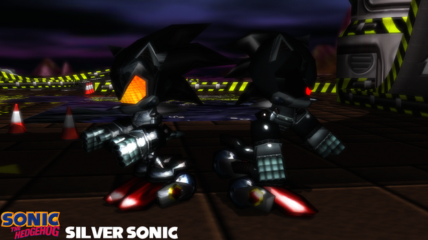 (MMD Model) Silver Sonic Download by SAB64