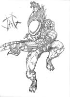 Predator Sketch by jag8519