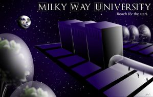 Milky Way University by Blairaptor