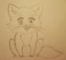 WIP World's Fluffiest and Most Adorable Kitten by Darvia123