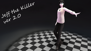 [MMD] Jeff the Killer +DL by Nozomii12