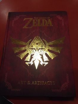 Gots me the Zelda Art and Artifacts Book! by Jun-Himekawa