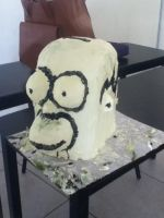Homer Simpson in butter by Boltession