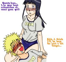 Naruhina in Gym Class by shock777