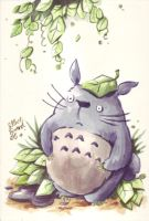 Totoro Loves You by steverinoz