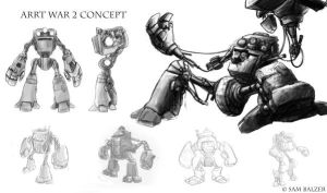 Artt war 2 Concepts by 0110100110