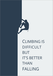 Motivational Posters climbing by goodboysk