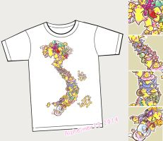 2014 Shortcomic Tshirt by Alzheimer13