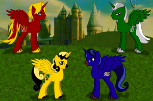 Hogwarts' Little Ponies by StormyWolf