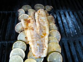 Lime grilled fish by chrisravensar