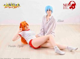 EVANGELION cosplay by YurikoTiger