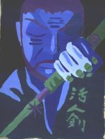 Zatoichi Cool by syntheticrelapse
