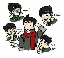 Mako's life with Bolin by VictorySoup