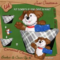 Basket and CoverUp 16 Freebie by justiej