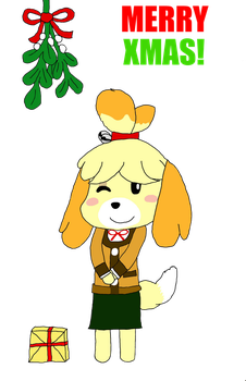 Merry Christmas from Isabelle by MidnaAdams