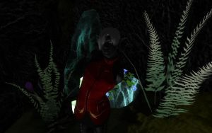 A Drow in the Underdark by Arivain-Shadowflare
