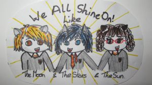 We all shine on! by JohntheFishLovesCurt