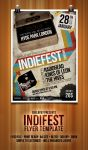IndieFest Flyer Template by Eleanor67