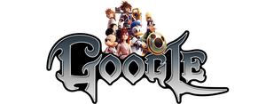 Kingdom Hearts Google Logo (+installation guide) by Albusonita