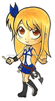 Fairy Tail - Chibi Lucy Heartphilia by aaamaaa