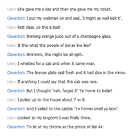 Rapping with Cleverbot by ladyofthef0rest
