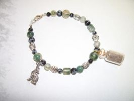 Eastern Coyote Spirit Totem Charm Bracelet 2 by DaybreaksDawn