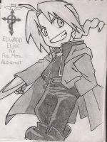 Edward Elric (1) by NirvanaKurt92