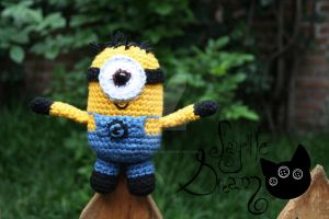 Despicable Me 2 minion by fayettedream