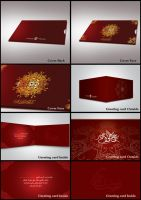 greeting card UAE by is007lam