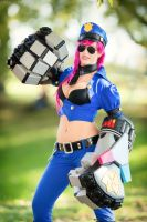 Officer Vi by sacchanina