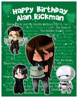 Happy Birthday Alan Rickman by Psy-CHO-Aoi