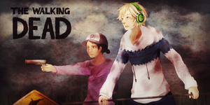 PewDiePie ~The Walking Dead~ by YOI-kun