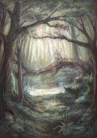 Forest of fairies by Alivis