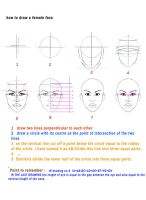 how to draw a female face by shoora