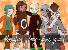 Blooming Glory: 1st Anniversary by Space-Crystal