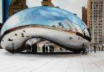 Cloud Gate Watercolor by Lamorien