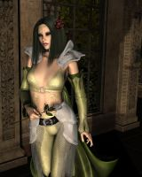 Mairliana the Chaotic Rose by Vanesse