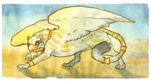 watercolor griff by kiki-doodle