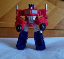 My little Optimus Prime by By-Blythlee