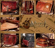 Shoulder bag of the Adventurer by Aetherwerk