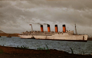 Voyage to Rosyth by RMS-OLYMPIC
