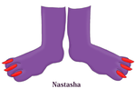Nastasha's Feet Close-up (Request) by TobyMcDee
