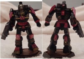 Battletech Battlemaster Red by KittyHMommy