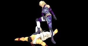 Nina Williams Victory Pose by nashdnash2007