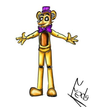 Fredbear/Toy by Fed9-OF