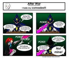 After War: I hate my COMRADES!!!!! by MantarWolf