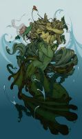 Rapunzel of the Sea _ Now in Technicolor by SrtaQuesadilla