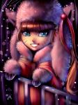 Kitten Girl in the Snow. by Sukesha-Ray