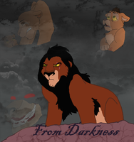 From Darkness Cover--New Comic! by Purple-Street-Dog